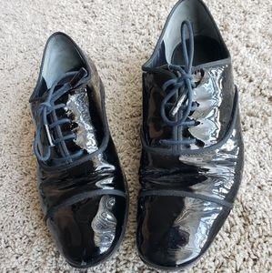 Tory Burch - Black Womens Oxford Dress Shoes